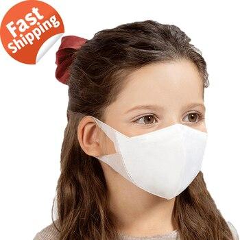 50Pcs/1Box Profession Children Boy Girl Kids Masks 3 Layer Anti-dust Disposable Mask Adult Child Unisex Mask Fast Shipping
