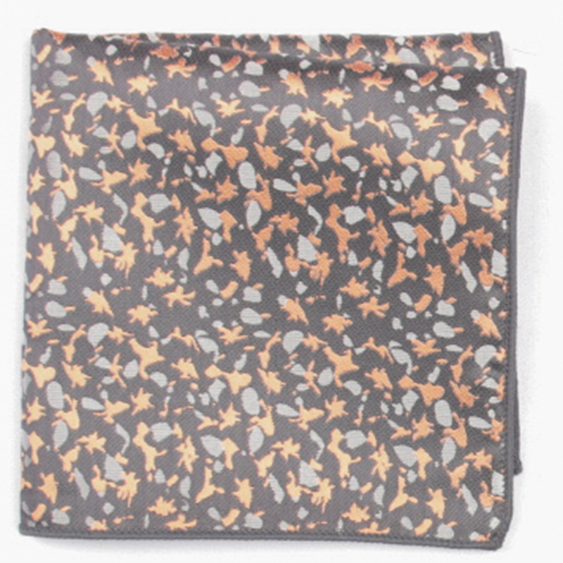 Multicolor  Fashion Patterned Pocket Square With Patterns Handkerchief