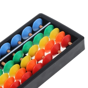 Colorful Abacus Arithmetic Soroban Maths Calculating Tools Educational Toy R9JD
