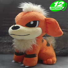 30cm Height Limited Edition Eevee Luma Anime New Plush Doll for Fans Collection Toy Growlithe 30cm height limited edition eevee luma anime new plush doll for fans collection toy q mew