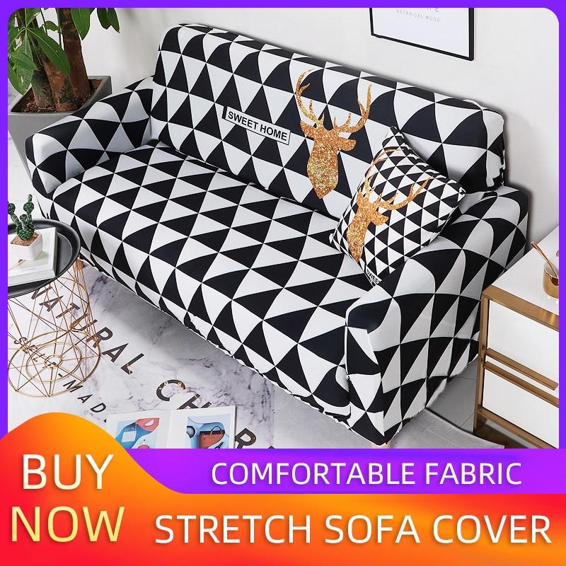 Cover Sofa Simple Sofa Cover Set All-inclusive Stretch Nordic Style Sofa Coverfundas Para Sofas 2 Y 3 Plazas Sofa Bed Cover