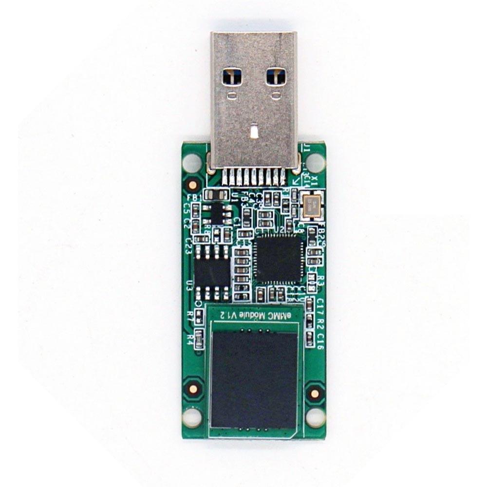 Taidacent RK3399 RADXA Rock Pi 4 Development Accessories Can Be A USB Driver High Speed USB 3.1 EMMC Smart Card Reader