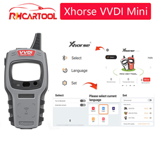 Xhorse VVDI Mini Key Tool Remote Key Chip Programmer Global Version for All Car with ID48 96bit and One Token Free Everyday