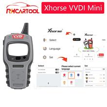 Xhorse VVDI Mini kluczyk narzędzie klucz zdalny Chip Programmer wersja globalna dla wszystkich samochodów z ID48 96bit i jeden Token za darmo codziennie tanie tanio VDIAGTOOL CN (pochodzenie) 5inch 6inch plastic Automatyczny programator do kluczy 0 5kg