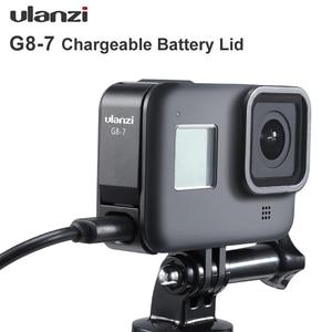 Image 4 - Ulanzi G8 7 Gopro 8 배터리 커버 분리형 배터리 뚜껑 Type C Gopro Hero 8 용 충전 포트