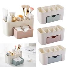 CYSINCOS пластиковые органайзеры для макияжа, коробка для хранения ювелирных изделий, коробка для хранения косметики с ящиком, акриловый держатель для помады, контейнер для мелочей, чехол