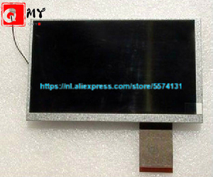 Original and New Hannstar 7inch LCD screen HSD070IDW1-D00 HSD070IDW1 D00 for Tablet PC+ Touch free shipping(China)