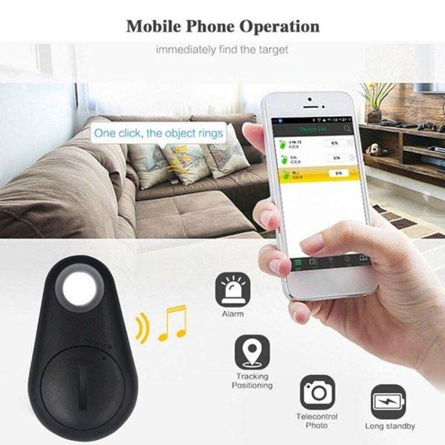 New Smart Wireless 4.0 Key Anti Lost Finder Tracker Car Alarm GPS Locator Wireless Positioning Wallet Pet Key Auto Accessories 2