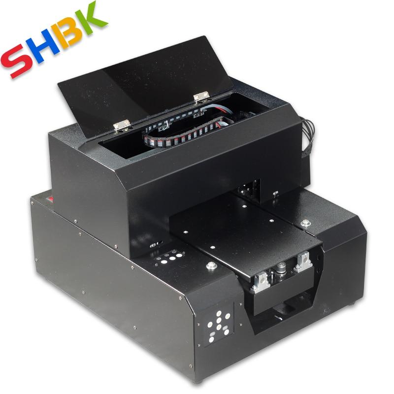 11,22 UV планшетный принтер светодиодный 6 цветов струйный с эффектом выбивания Golf A4 УФ принтер для чехол для телефона, футболки, кожи, ТПУ