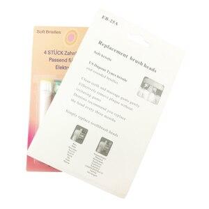 Image 2 - Floss פעולה מברשת שיניים חשמליות היגיינת פה טיפול EB 25A EB25 400 יח\חבילה