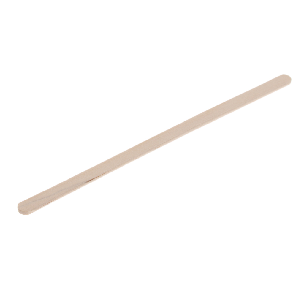 100Pcs 140mm Disposable Wood Coffee Stirrer for Hot Cold Drink Beverage 5.5'', Eco-friendly and Biodegradable