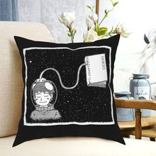 Dreaming Of Space In Space Throw Pillow  Cushion Cover Decorative Pillowcases Case Home Sofa Cushions 40x40|45x45cm(Double Sides
