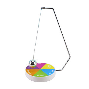 Magic Decision Maker Magnetic Pendulum with Base Fun Office Home Toys AN88(China)