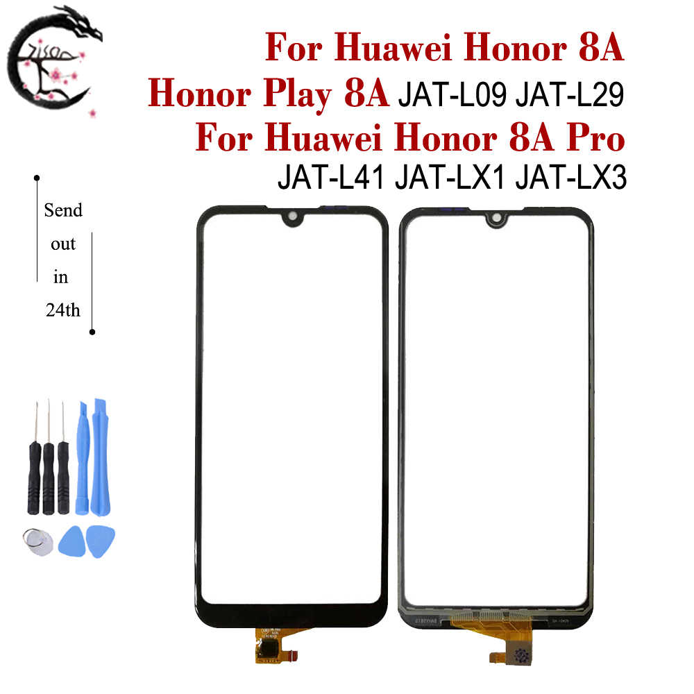 Touch Panel For Huawei Honor Play 8A JAT-L09 L29 Honor8A Pro JAT-L41 LX1 LX3 Touch Screen Digitizer Glass Sensor With Flex Cable