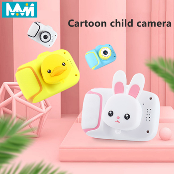 MMN Children's Camera HD Screen Camera Video Kids Toy Cartoon Outdoor Photography Lens protect With 8G 16G 32G Memory Card