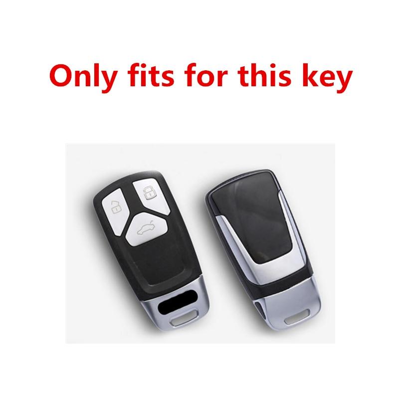 ТПУ кожаный защитный чехол для автомобильного ключа audi a4