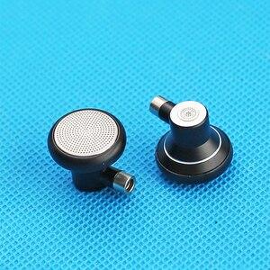 Image 3 - 15.4mm casque plat gratuit bricolage MMCX boîtier de casque en métal casques détachables gamme complète