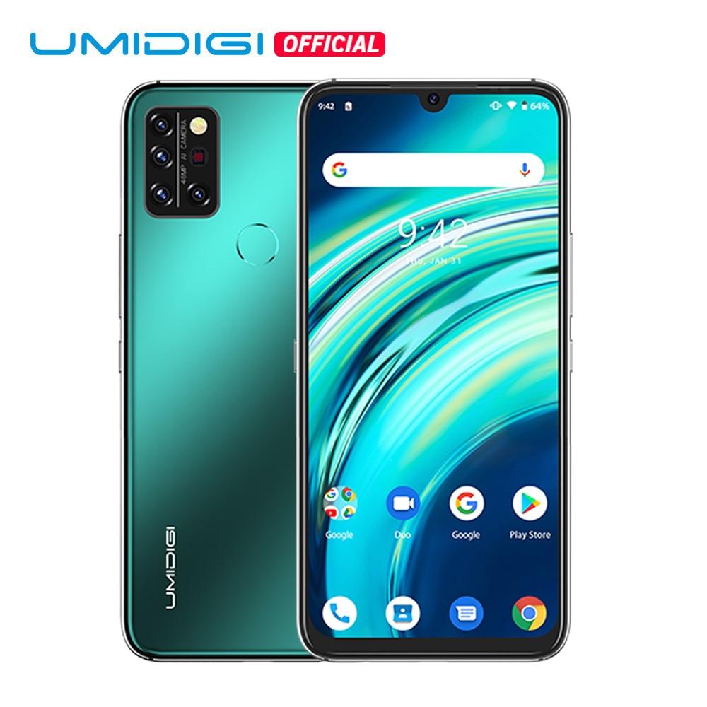 UMIDIGI A9 Pro versión Global 6GB 128GB Helio P60 Octa Core 48MP Quad Cámara Smartphone 24MP Selfie 6,3