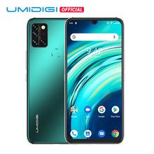 UMIDIGI A9 Pro wersja globalna 6GB 128GB Helio P60 48MP Quad Camera 24MP aparat do Selfie Octa Core 6 3 #8222 FHD + telefon komórkowy przedsprzedaż tanie tanio Nie odpinany CN (pochodzenie) Android Rozpoznawania linii papilarnych Rozpoznawania twarzy Inne 4150 Nonsupport Smartfony