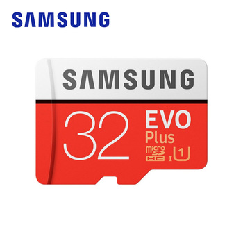 SAMSUNG Memory Card EVO Plus 32GB 95MB/s Micro SD Card TF C10 U1 UHS-I 4K Flash Memory for Smartphone Tablet with Adapter