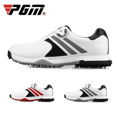 Luvas de Golfe Homens Impermeáveis Calçados Esportivos Respirável Verão Sapatos Xz118 Pgm Mod. 175361