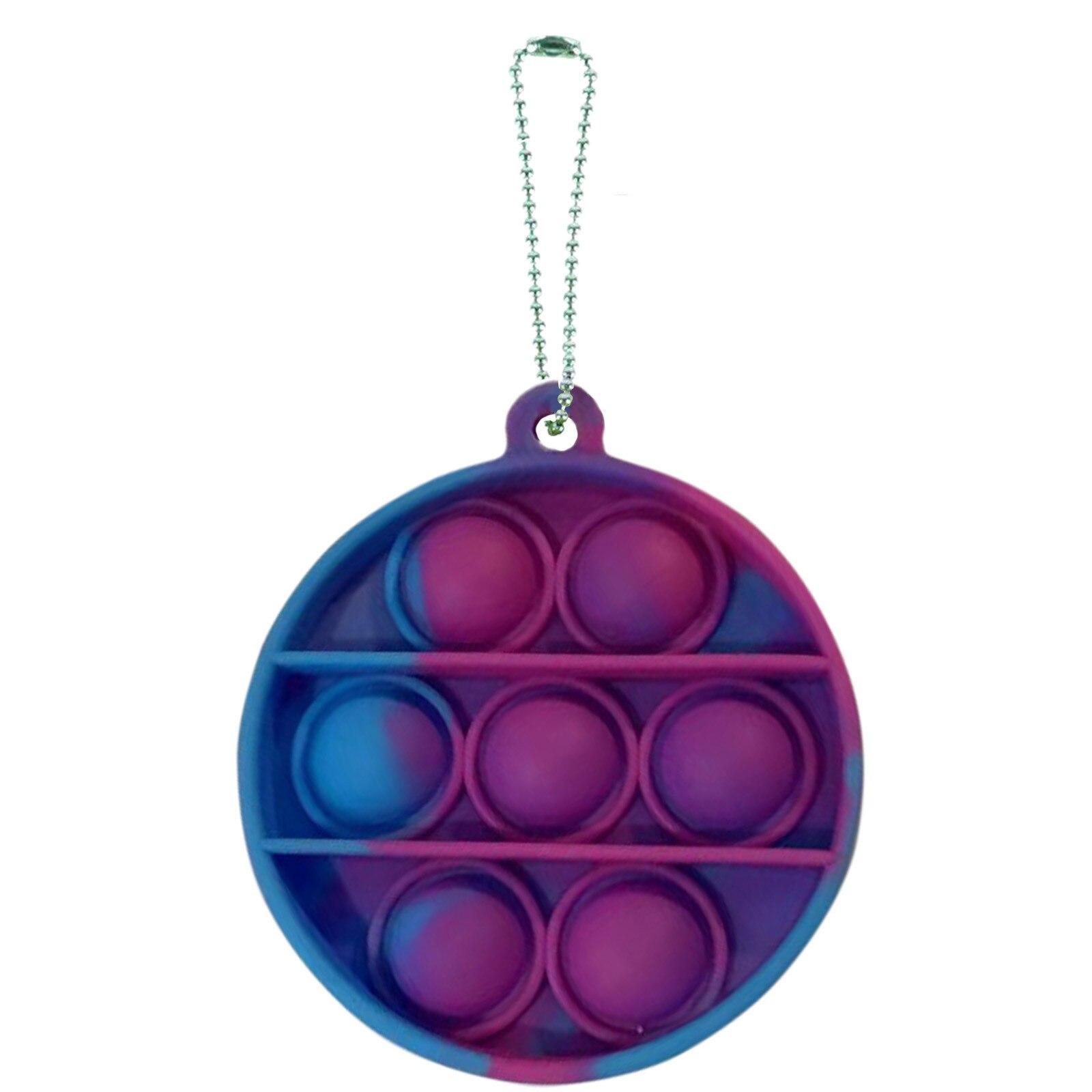 Key-Ring It-Fidget-Toys Educational-Toy Anti-Stress-Pop Push Bubble Adult Mini Children img3
