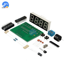 AT89C2051 Digital LED Display 4 Bits Electronic Clock Electronic