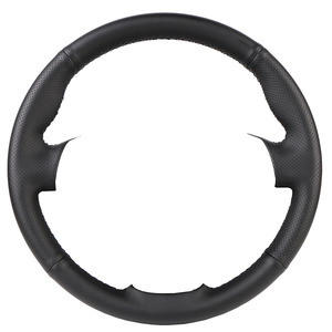 Image 4 - Artificial Leather car steering wheel braid for Honda Civic Old Civic 2006 2011/Custom made auto Steering wheel cover
