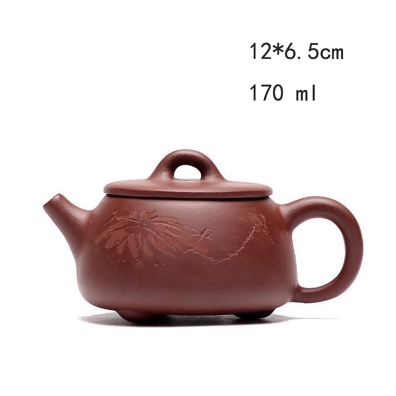 Yixing Zish Purple Clay Tea Teekanne Stone Scoop Pot Teekannen Zisha - Küche, Essen und Bar - Foto 4