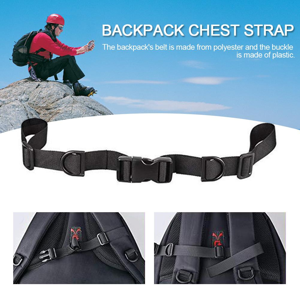 1PC Bag Parts Accessories Tactical Backpack Nylon Chest Fixed Belt Straps Buckle