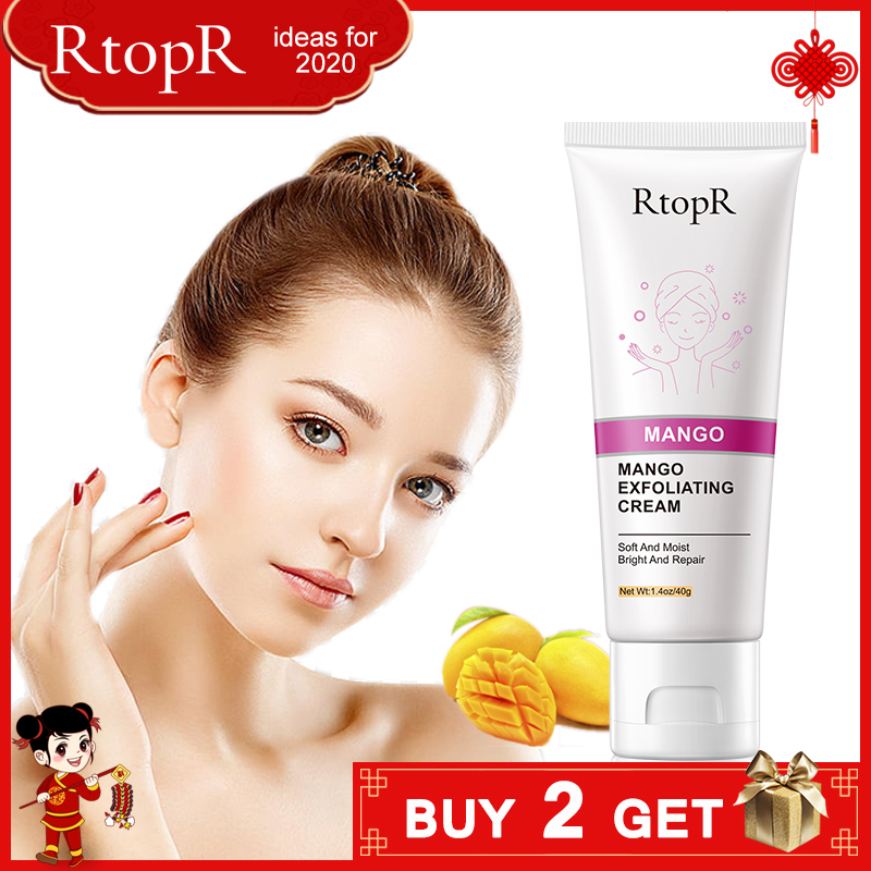 Skin Care Face Exfoliating Cream Whitening Moisturizer Repair Facial Scrub Cleaner Acne Blackhead Treatment Remove Face Cream