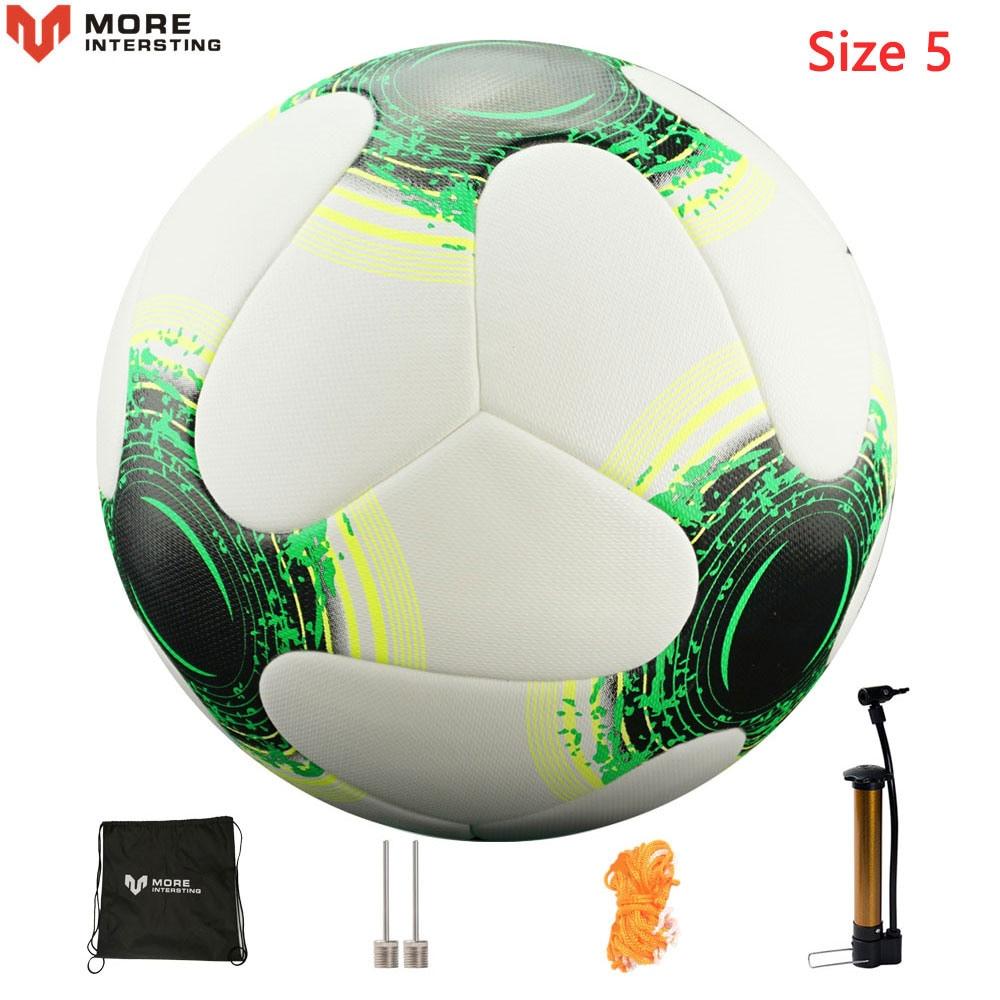 Russia Professional Size 4 Size 5 Football Premier PU Seamless Soccer Ball Goal Team Match Training Balls League futbol bola 14
