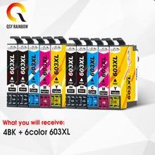 CMYK SUPPLIES 10pcs T603XL 603XL Ink Cartridge for Epson XP-2100 XP-2105 XP-3100 XP-3105 XP-4100 XP-4105 WF-2810 WF-2830 WF-2850 vilaxh t2521 for epson ink cartridge for epson workforce wf 3620 wf 3640 wf 7110 wf 7610 wf 7620 wf 3620 3640 7610