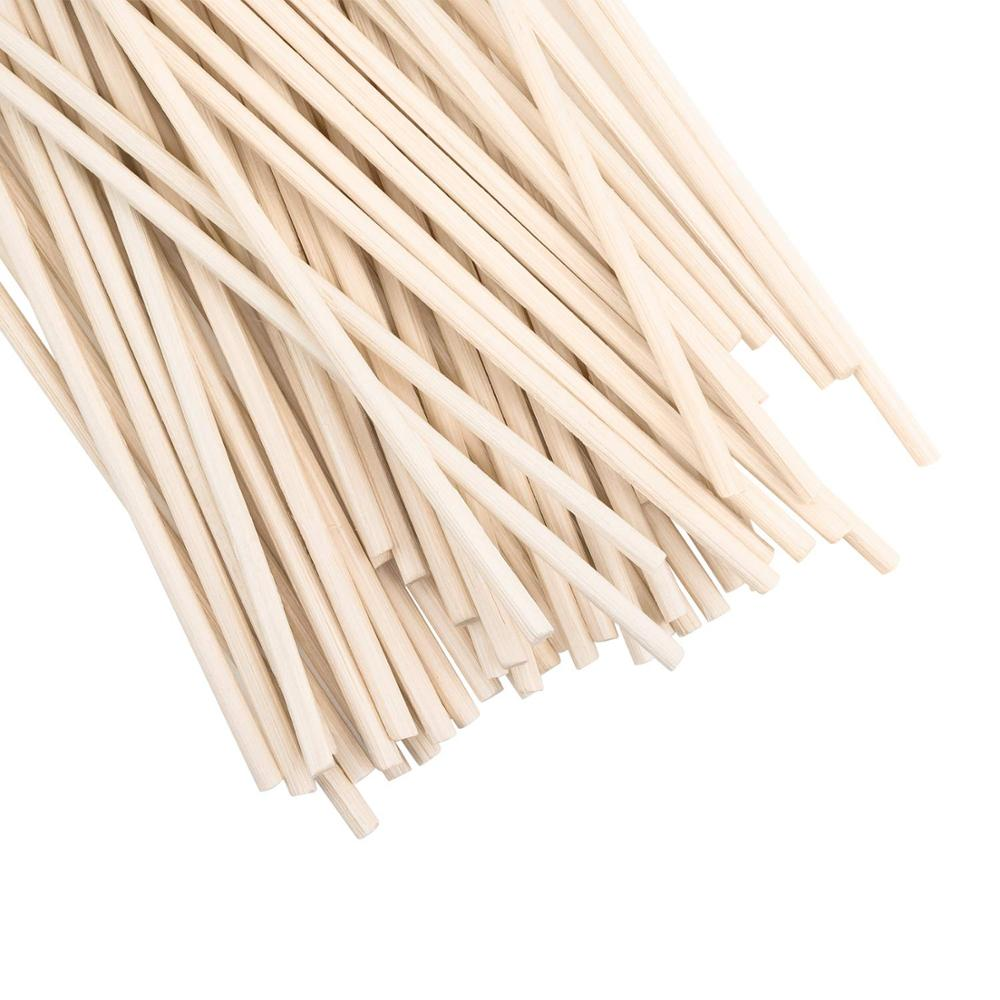 500pcs 24cm X 3mm Premium Rattan Reed Diffuser Replacement Refill Rattan Sticks/Aromatic Sticks For Fragrance