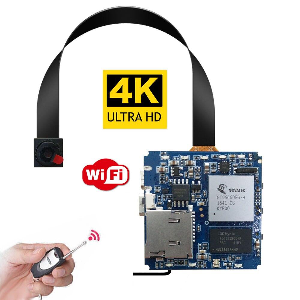 Дистанционное управление реальный 2,7 K 4K WiFi P2P мини камера видео регистратор Цифровая видеокамера детектор движения дроны DIY камера безопасн...