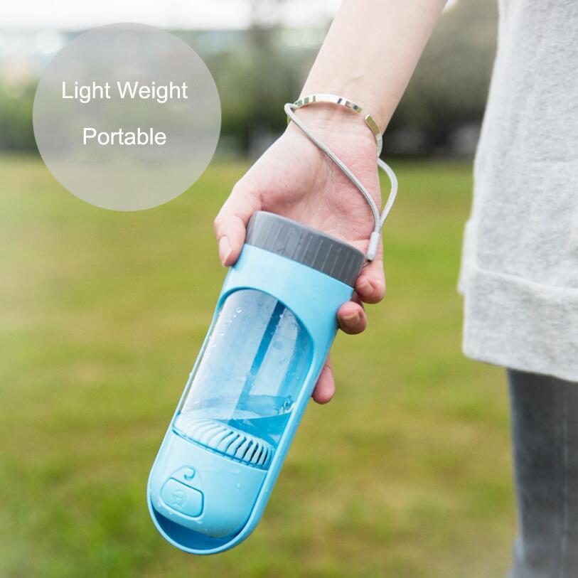 2020 New Pet Supplier Storage Small Dog Travel Water Bottle Portable Ourdoor Drinking Bowl For Cat Dog Food Dispenser Feeder|Dog Feeding|   - AliExpress