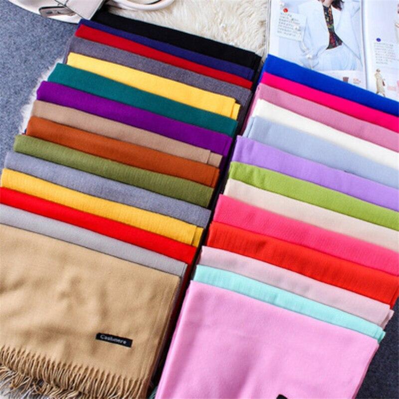 Girita Brand Women's Fashion Scarf Autumn Winter Wool Plaid Women Cashmere Scarves Wide Long Shawl Wrap Blanket Warm Tippet