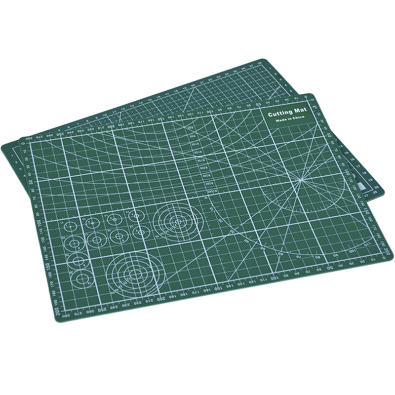 2 Types PVC Cutting Mat Cutting Pad Patchwork Double Printed Self Healing Cutting Mat Craft Quilting Scrapbooking Board 20x30cm