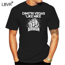Dimitri Vegas Als Mike T-shirt Smash Party Festival Alle Maten A52(China)