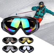 Gogle narciarskie i snowbordowe górskie okulary narciarskie skuter śnieżny sporty zimowe Gogle śnieżne