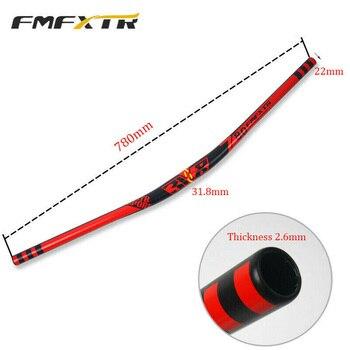 FMFXTR-Manillar de bicicleta de montaña, manillar de aleación de aluminio de 780x31,8mm,...
