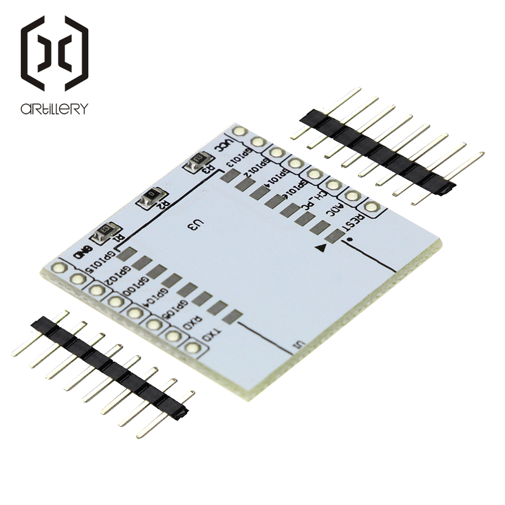 1pcs <font><b>ESP8266</b></font> Serial WIFI Module <font><b>Adapter</b></font> Plate Applies to ESP-07, ESP-08, ESP-12E image