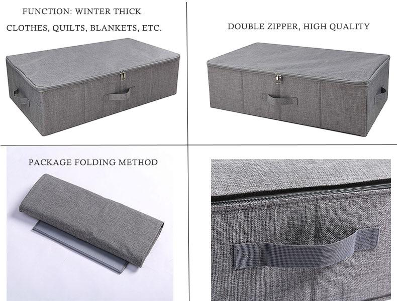 Underbed Shoe Storage Organizer Box 1 (7)