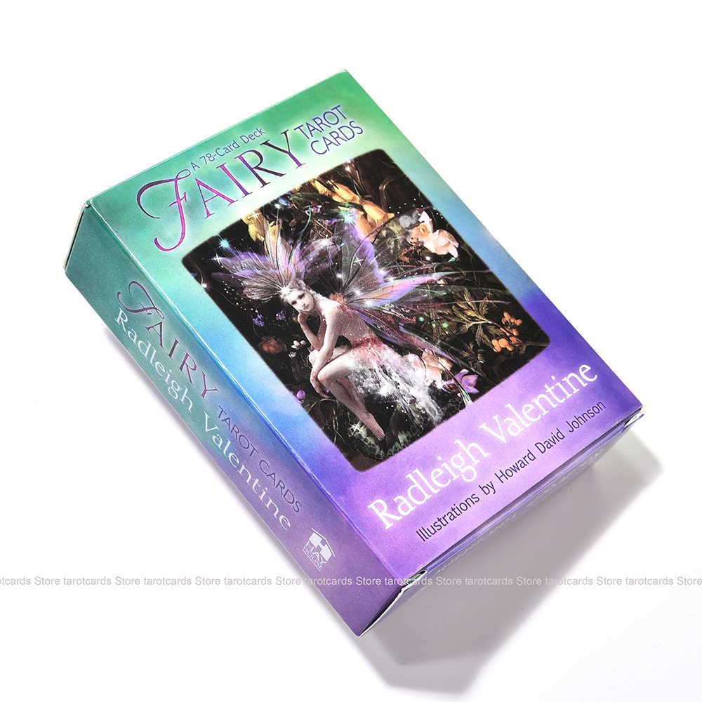 Peri Tarot Kartu 78 Kartu Dek Radleigh Valentine Lllustrations Kualitas Tinggi Papan Oracle Pesta Permainan Ramalan