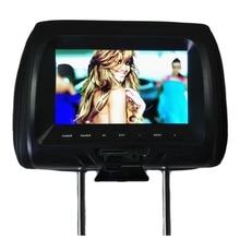Автомобильный Универсальный 7 дюймов Tft светодиодный Экран автомобиля Mp5 плеер сзади цифровой Дисплей Поддержка Av/Usb/Sd Вход/Fm/Динамик-бла