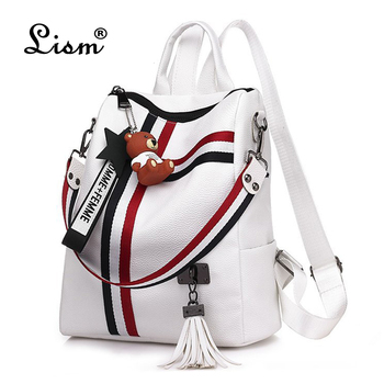 bags for women 2020  new retro fashion zipper ladies backpack PU  Leather high quality school bag shoulder bag for youth bags 2018 new retro fashion zipper ladies backpack leather high quality school bag shoulder bag for youth bags leather tassel
