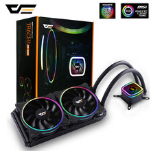darkFlash PC Case Water Cooling Computer CPU Fan Cooler Radiator integrated water cooling for Intel LGA 2011/775/115x/AM4