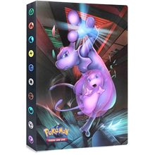 Pokemon Cards Album 240pcs Holder Collections PokéMon Cards Book Binder For Pokemon Game Trade Cards GX EX Card Folder Kids Gift