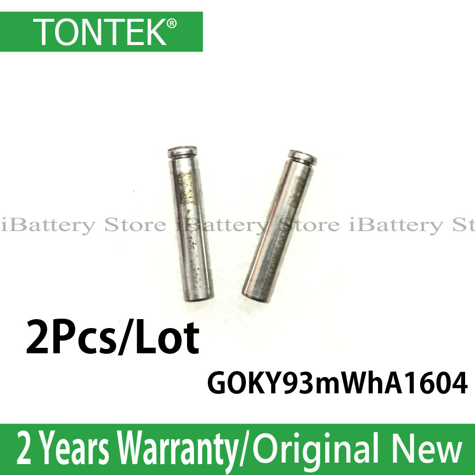 2Pcs/lot Genuine GOKY93mWhA1604 Battery For Apple Airpods 1st 2nd A1523 A1722 A2032 A2031 Replace New Battery