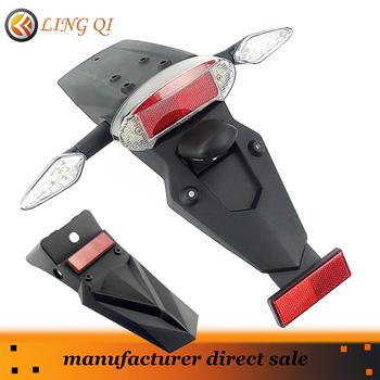 Wielofunkcyjny trzy w jednym lampa tył motocykla błotniki błotnik światło stop LED włącz akcesoria oświetleniowe Kayo T2 i remont R6 tanie i dobre opinie NoEnName_Null CN (pochodzenie) 10cm 36cm 110g 12 3cm